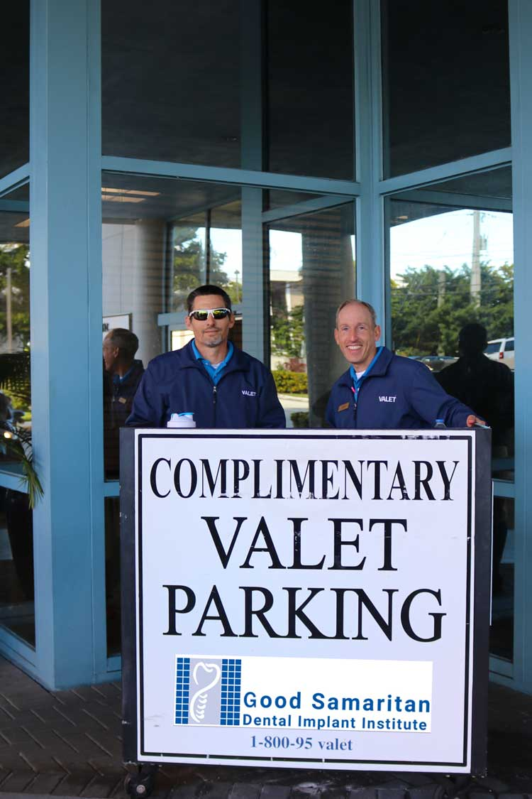 valet-parking-Good-Samaritan-Dental-Implants